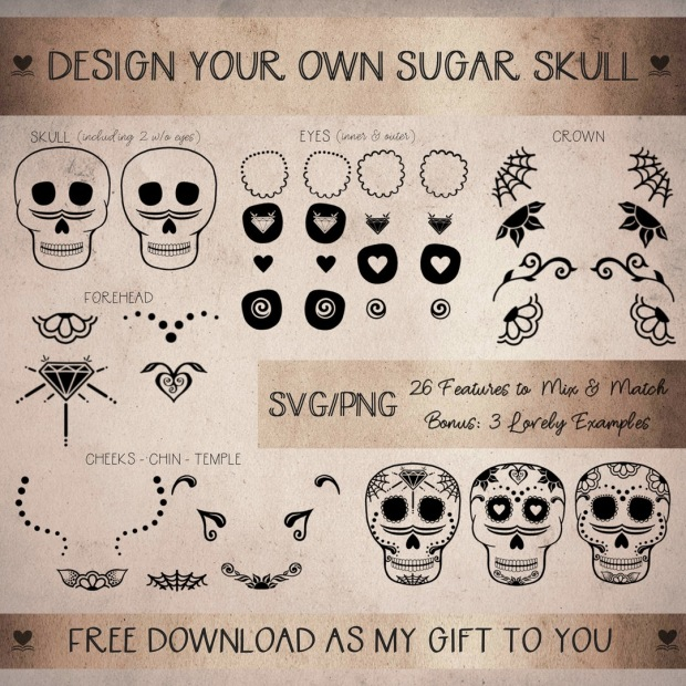 Sugar Skull Options